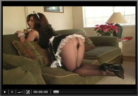 erica_campbell_posing_as_a_frach_maid